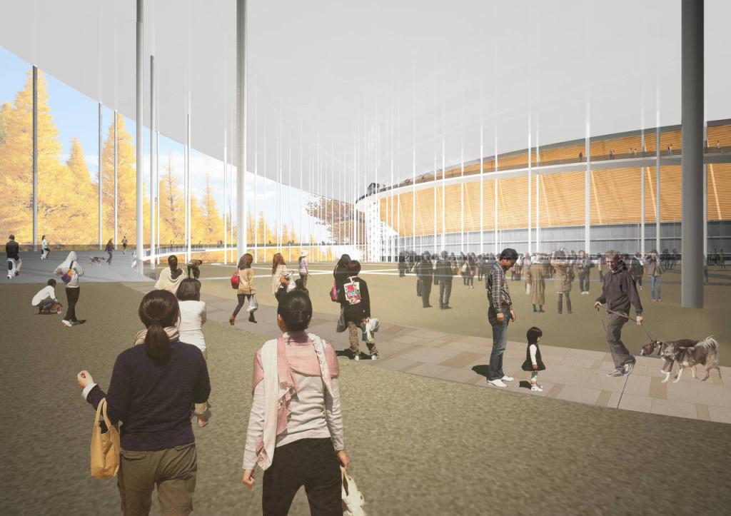 New National Stadium Tokyo