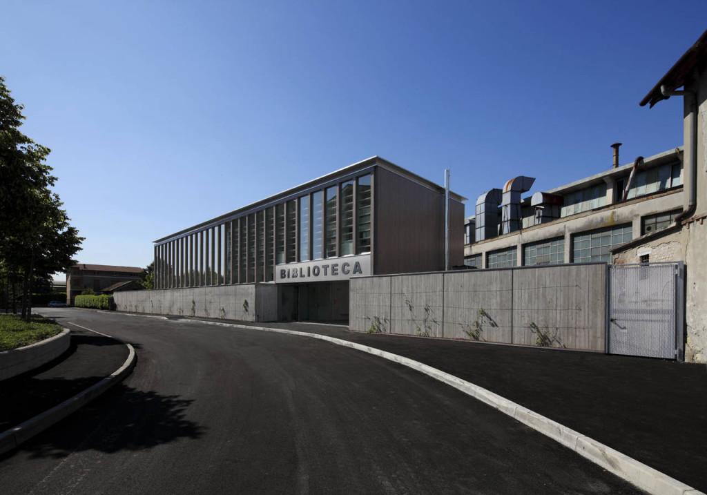 Nuova biblioteca comunale a Erba (Co)