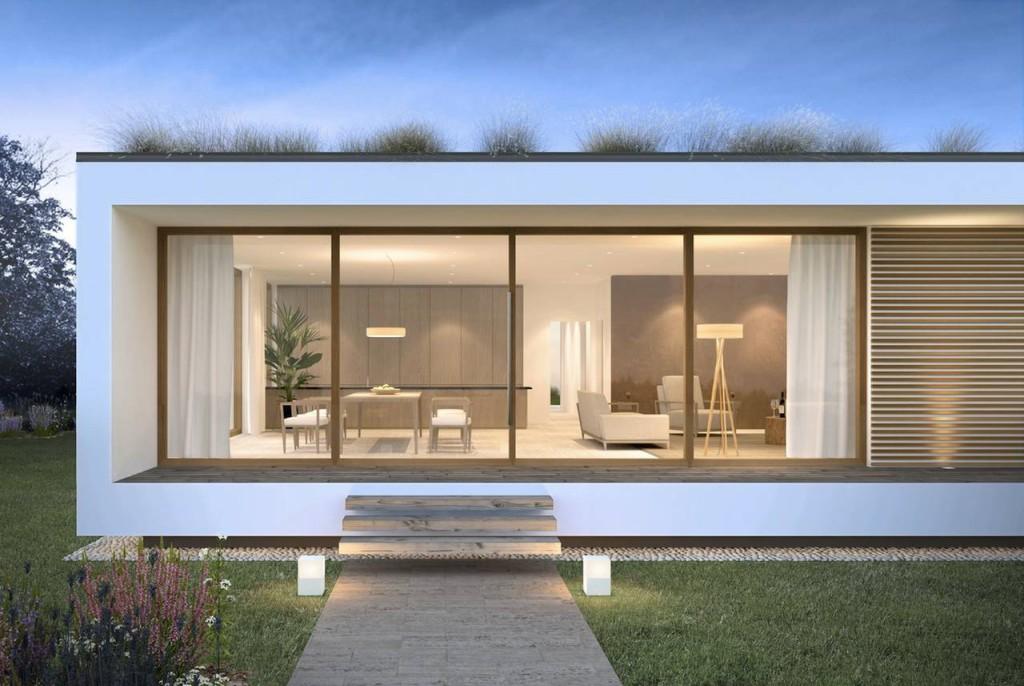 Casa in legno Glam