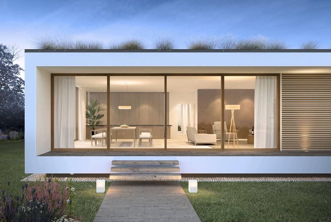Casa in legno glam michele perlini arketipo for Case con struttura in legno a un solo piano