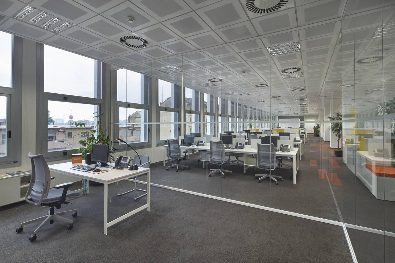 Nuova sede leaseplan a milano progetto cmr arketipo for Uffici a milano