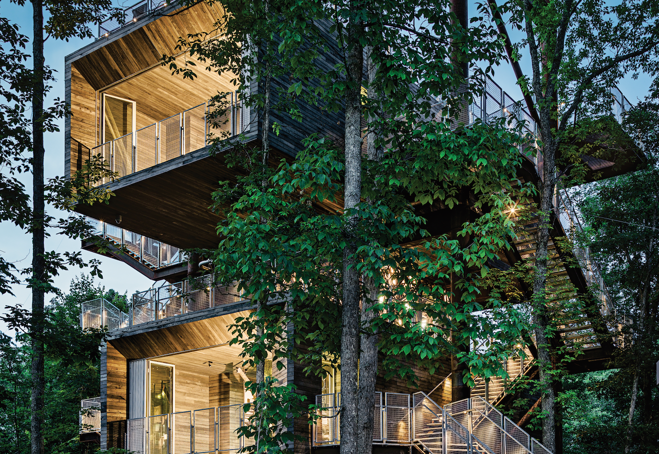 sustainability treehouse mithun