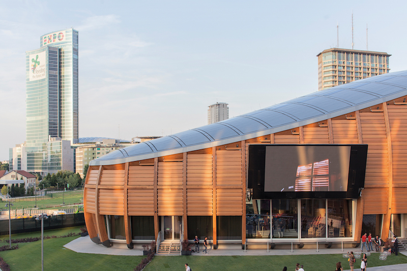 UniCredit Pavilion a Milano (courtesy of Zintek)
