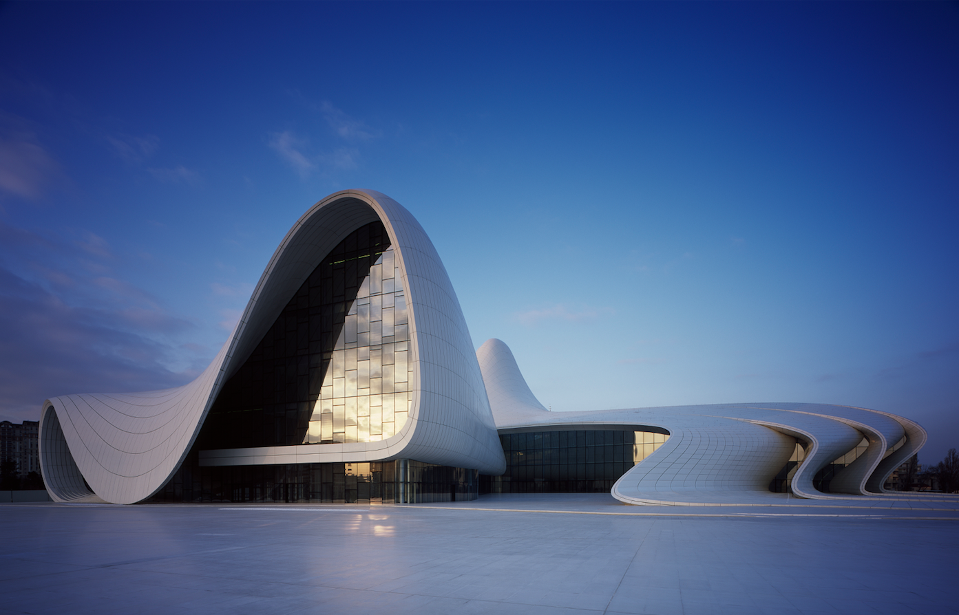 Heydar Aliyev Center (photo by Helene Binet)