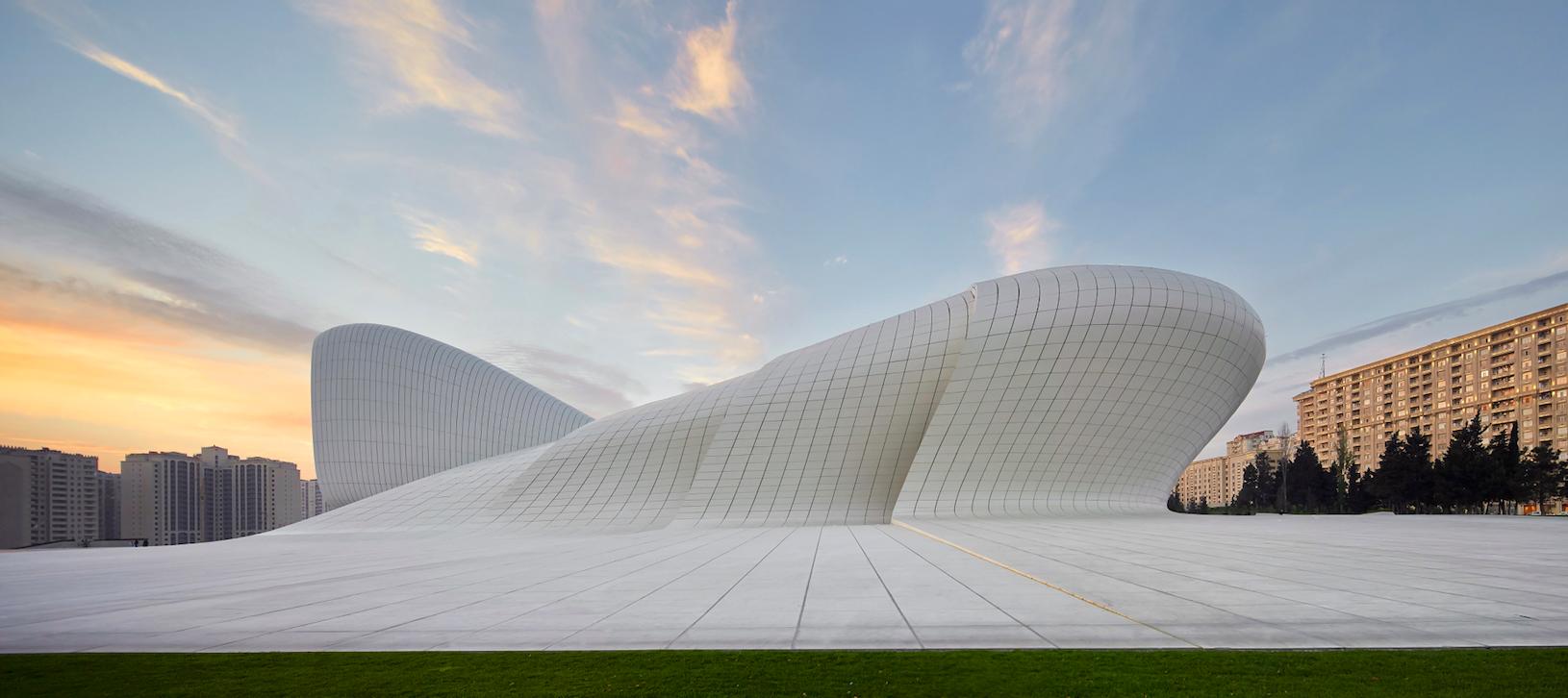Heydar Aliyev Center (photo by Hufton+Crow)