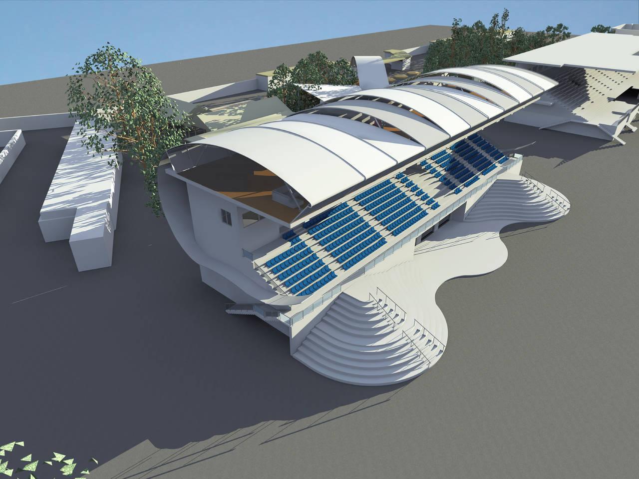 Il Guscio, progetto per l'Ippodromo di Agnano (Na)