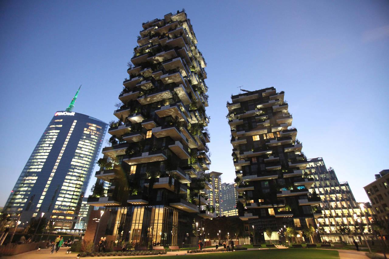 Skyline architetti per milano su sky arte il bosco verticale