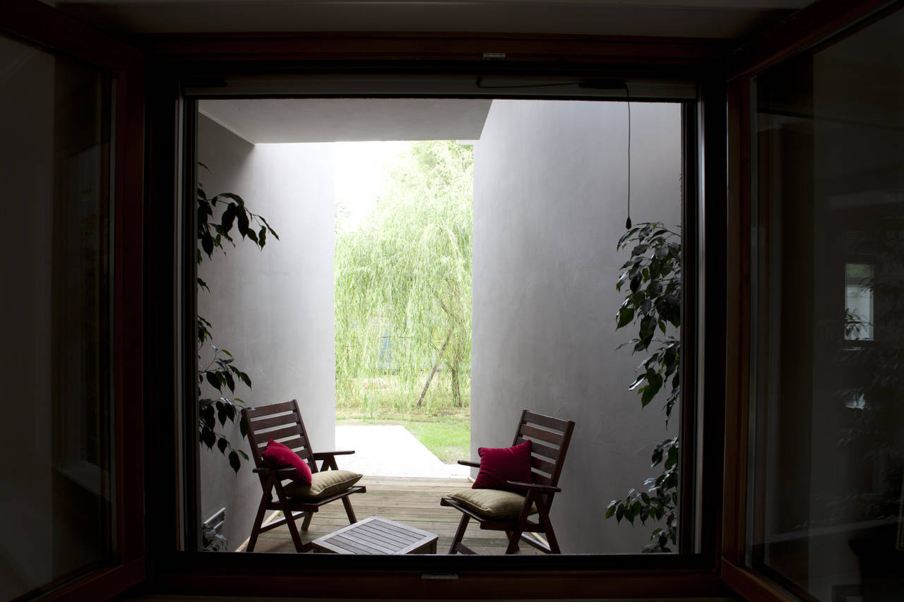 Casa cerniera (photo by Alessandro Belgiojoso e Francesco Clemente)