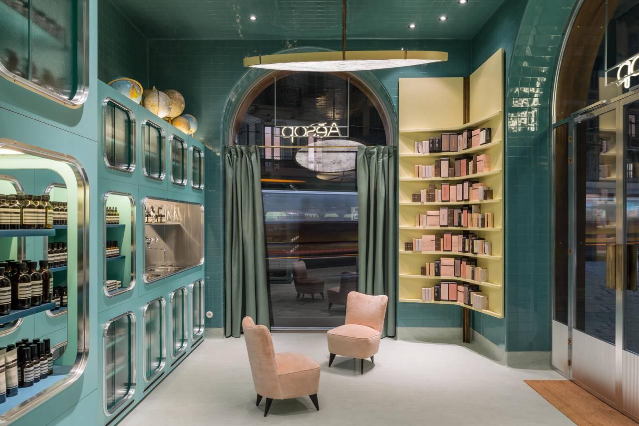 Il secondo negozio Aesop di Milano (photo by Paola Pansini)