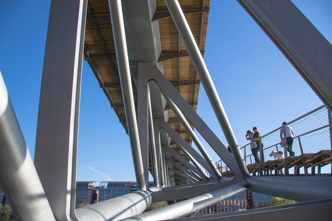 Passerelle de la Paix a Lione (Photo by Michael Zimmermann)