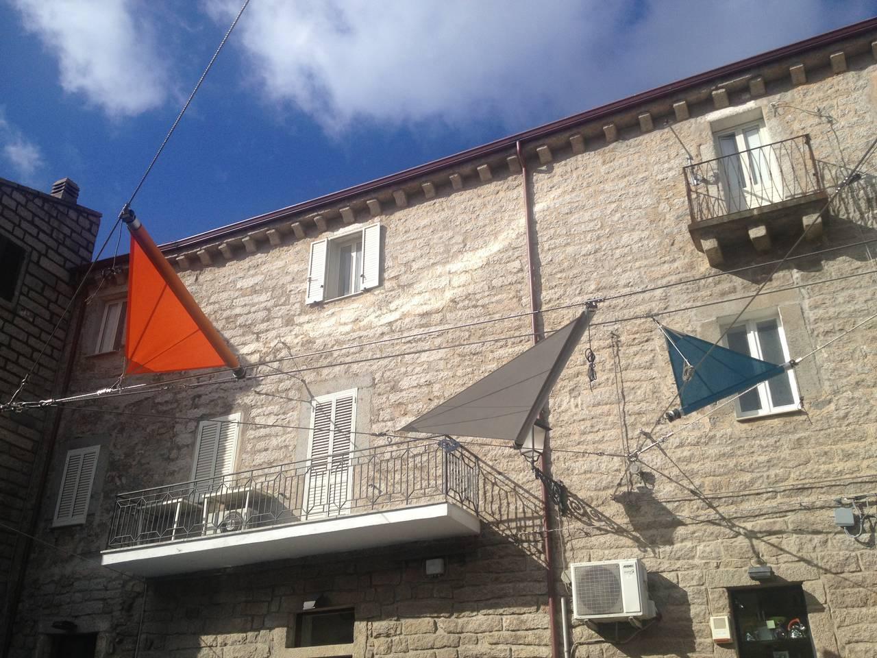Piazza Faber a Tempio Pausania (Ot)