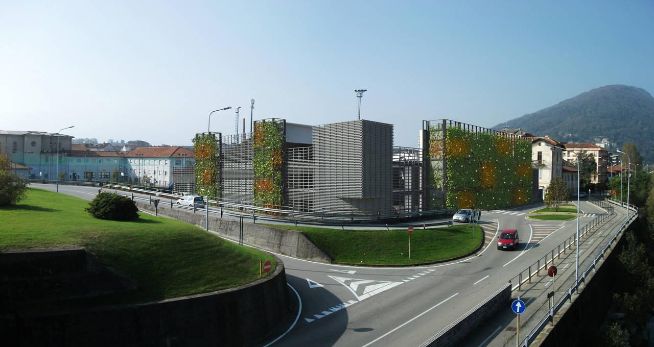 Parcheggio multipiano a Verbania