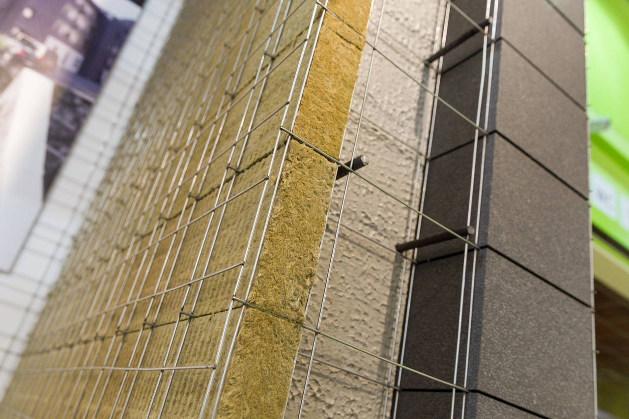 <em>Modulo isolato termicamente e acusticamente che permette la costruzione di edifici in C.A. sismicamente resistenti, MODULO ECOSISM - Ecosism srl. Foto Marco Parisi</em>