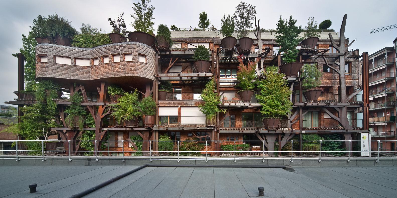 Residenze 25 Green a Torino (Photo by Beppe Giardino)