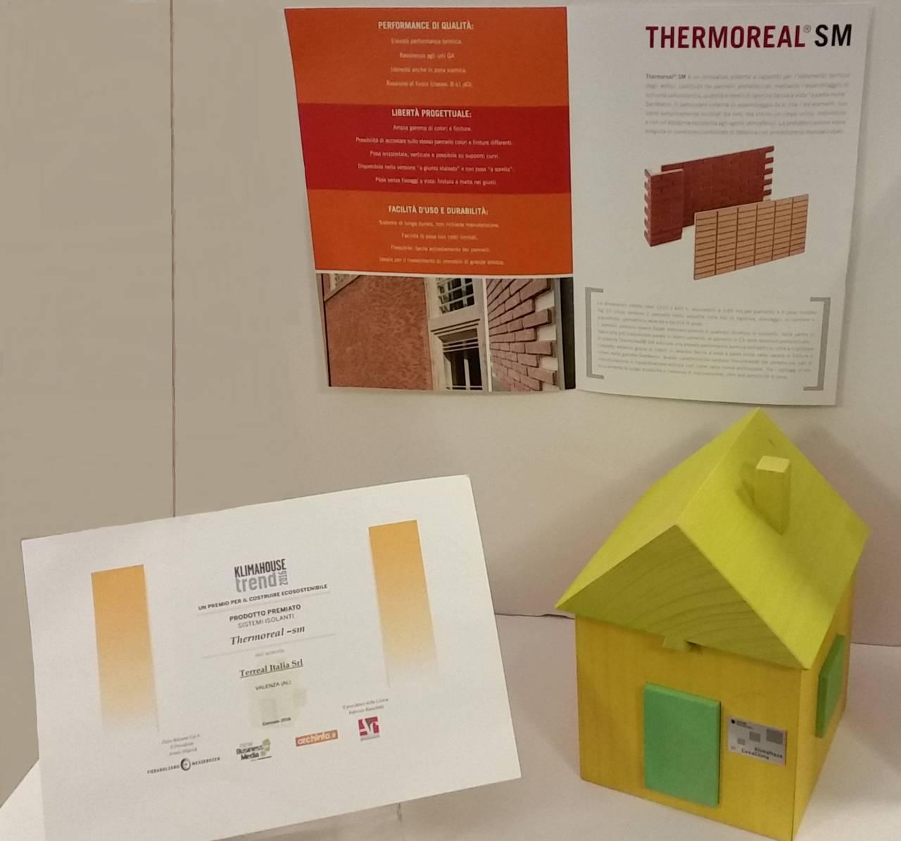 """Premio """"Klimahouse Trend"""" categoria Sistemi isolanti"""