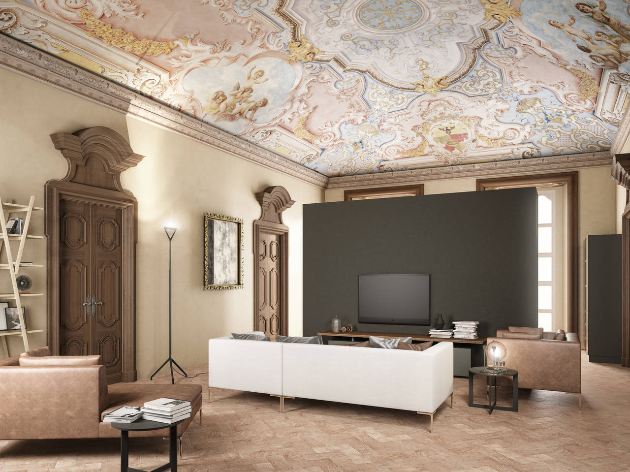 Castello di Inverigo, gli interni