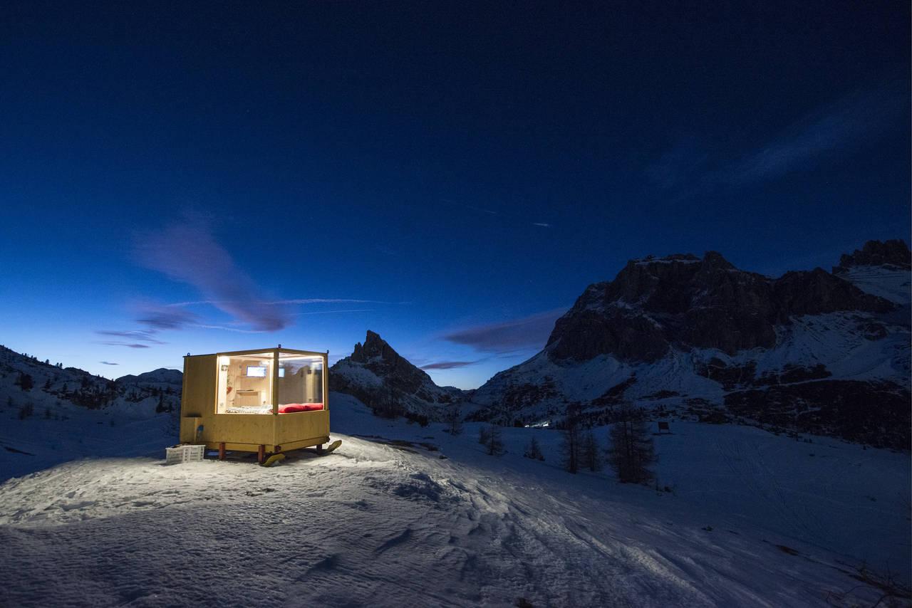 Starlight Room Dolomites (Photo by Giacomo Pompanin)