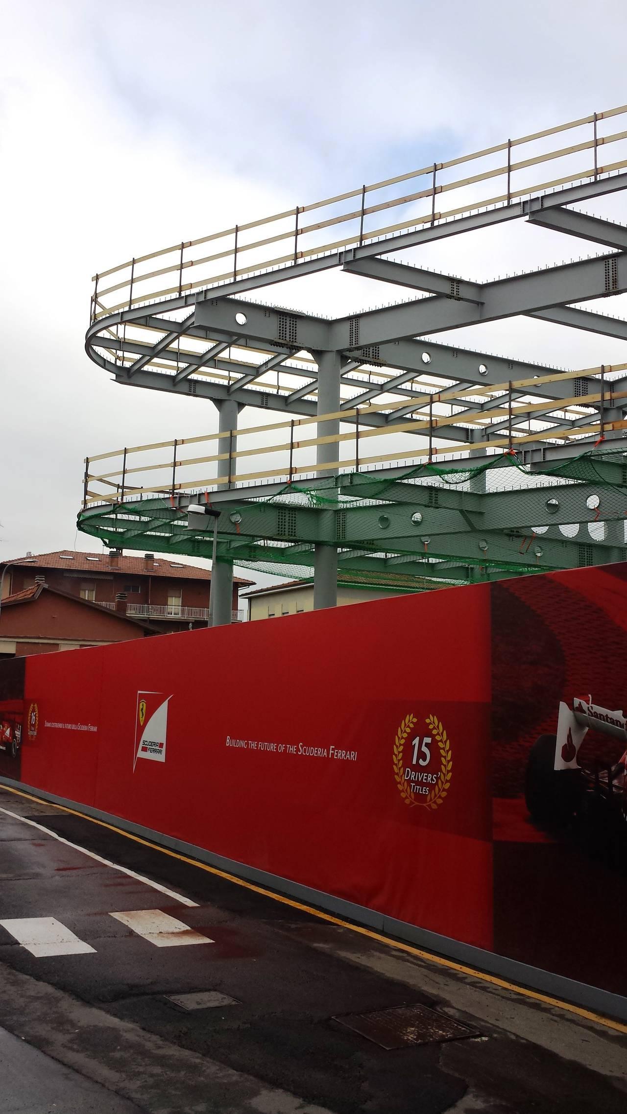 Nuovo edificio GES Ferrari a Maranello - Wilmotte & Associés