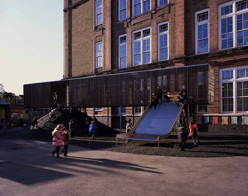 Chisenhale Primary School a Bow (Photo by Helen Binet)