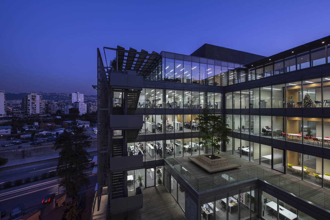 Holcom HQ a Beirut (Photo by Ieva Saudargaite)