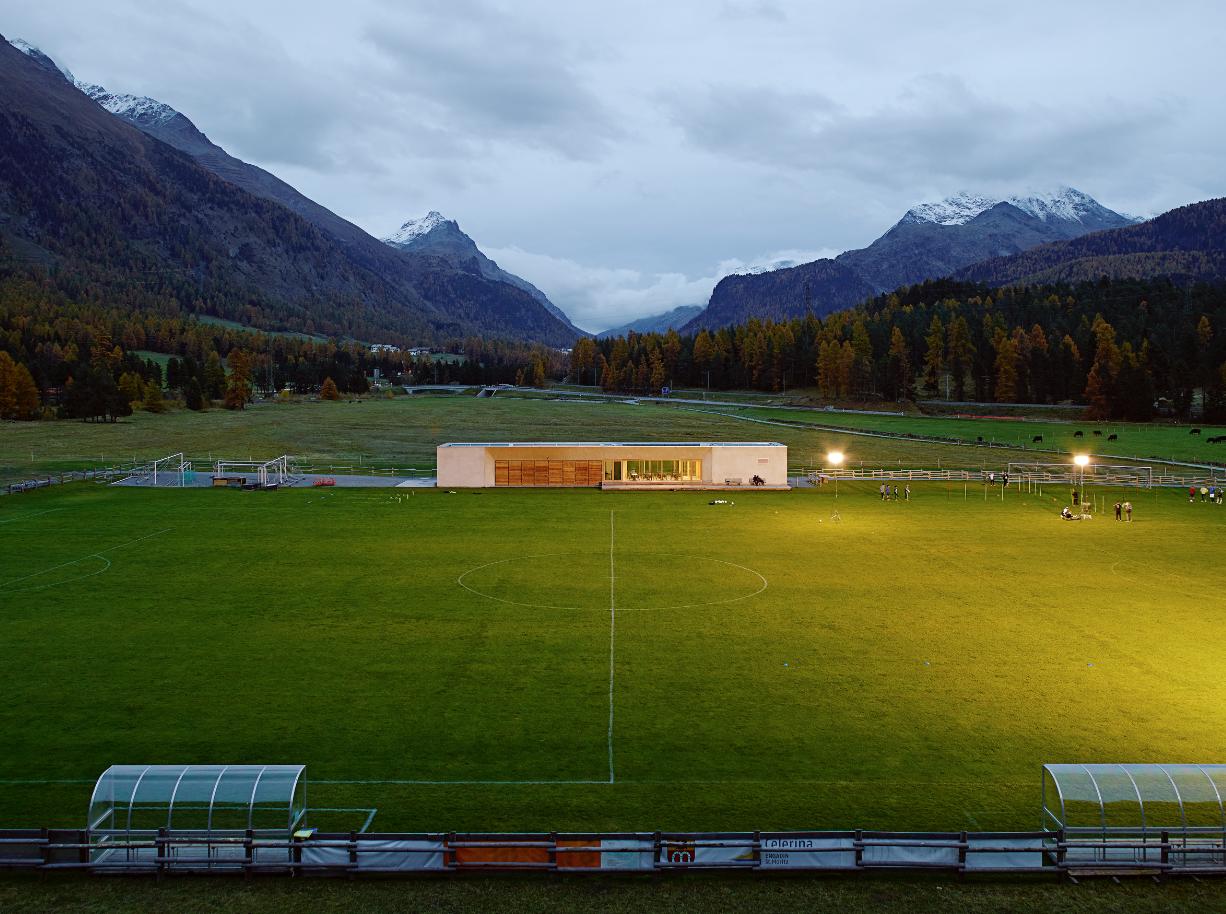 campo sportivo Celerina