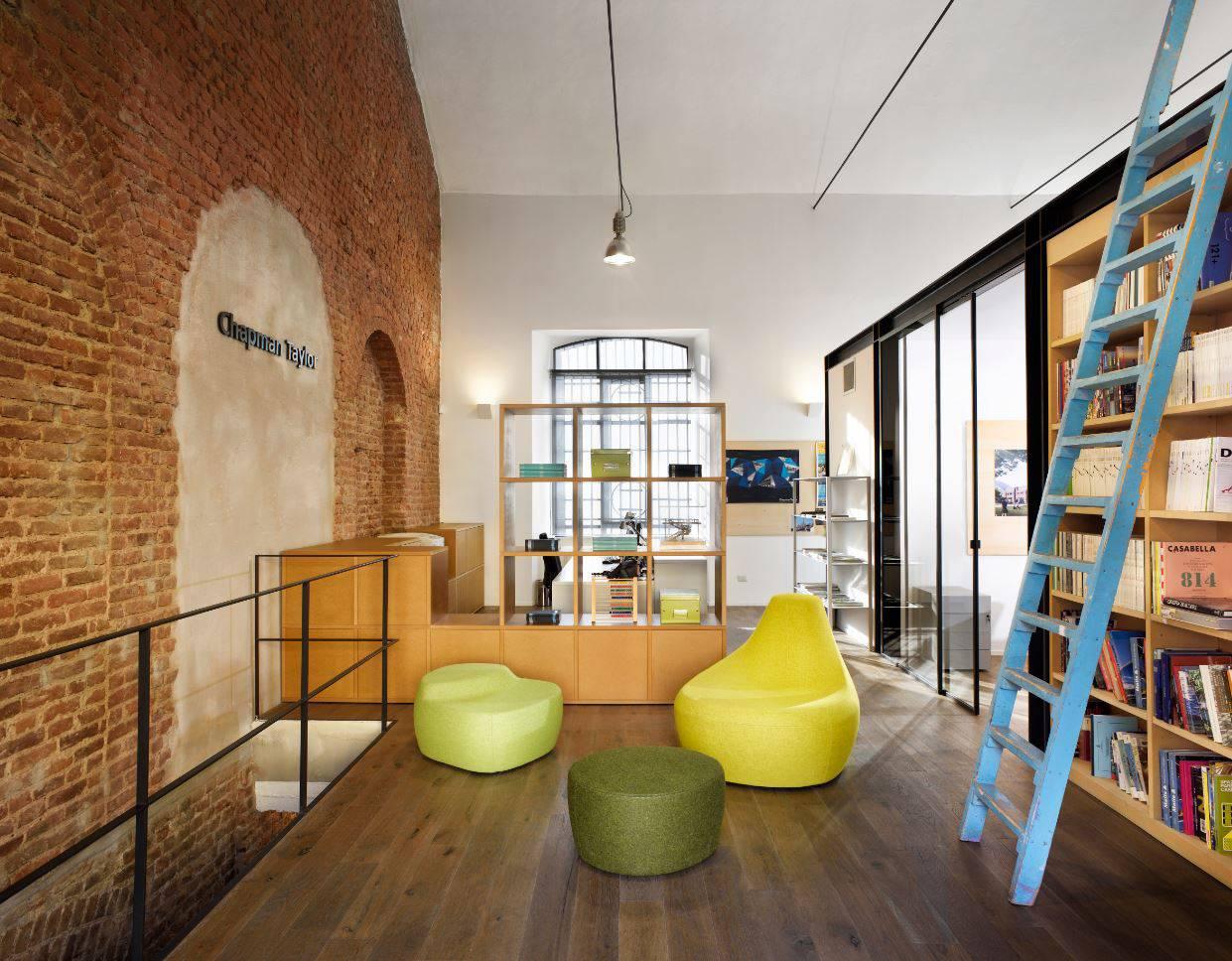 Nuovi uffici Chapman Taylor a Milano