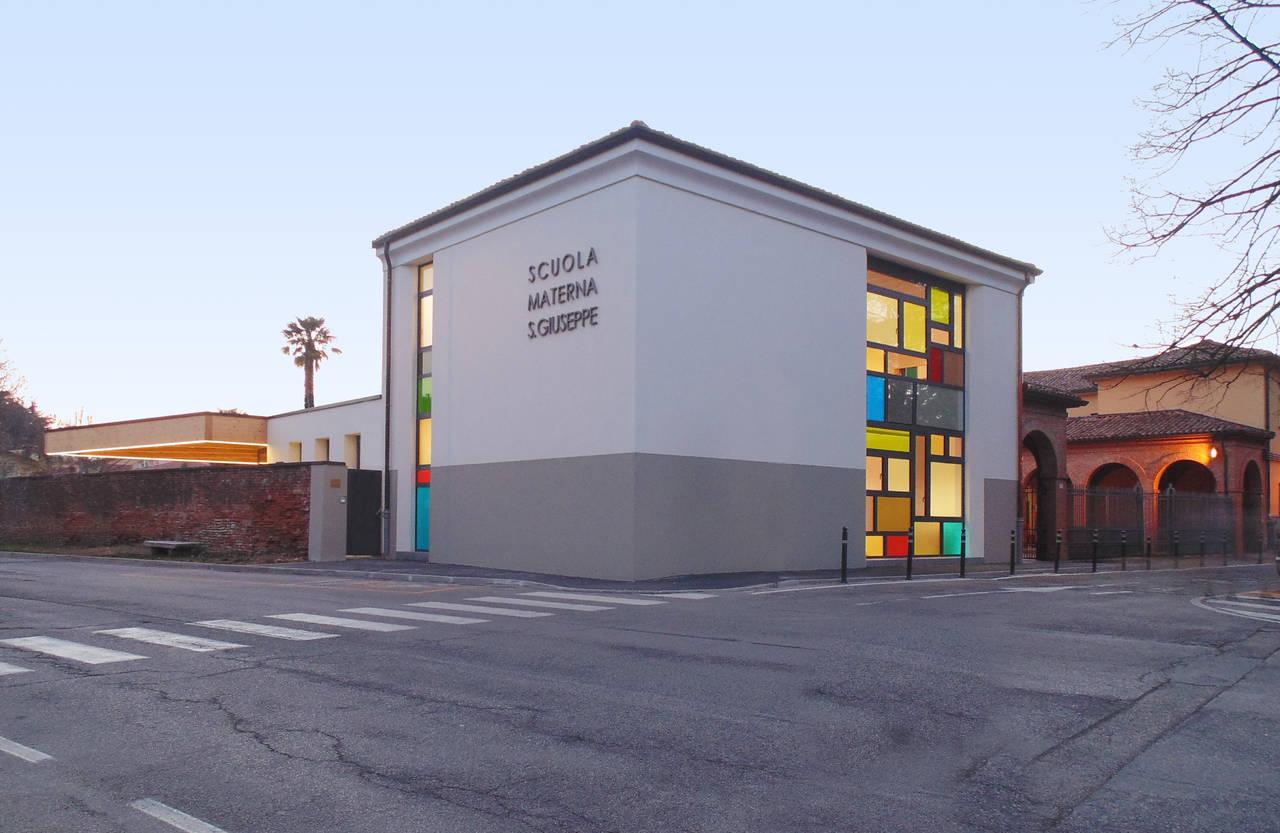 Wienerberger per una scuola d infanzia a ravenna arketipo
