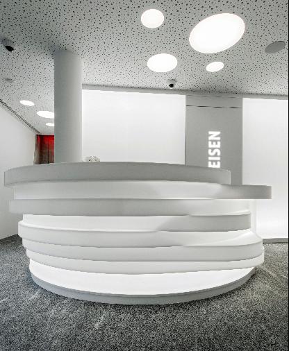 B Light per la Banca Raiffeisen a Mendrisio