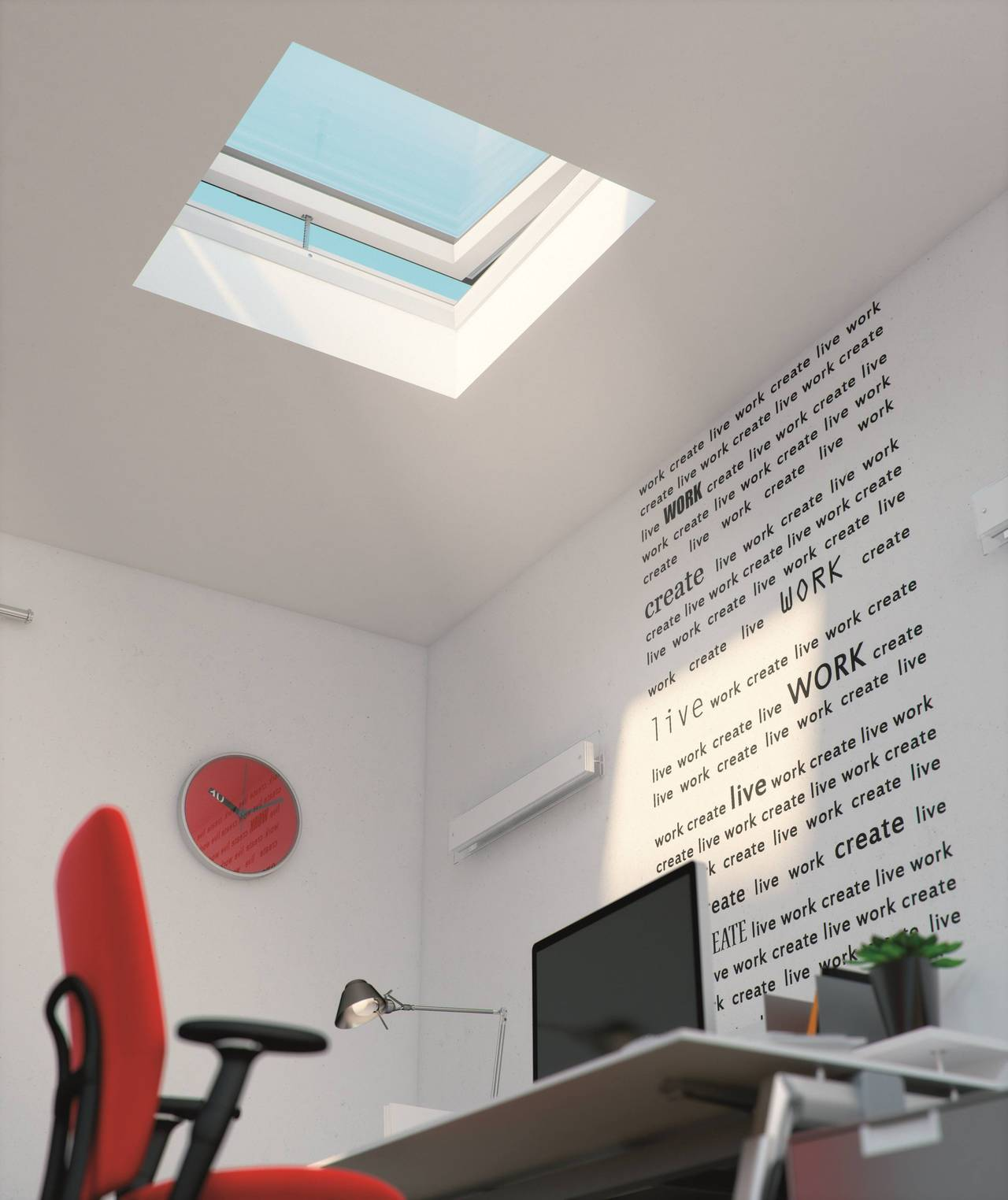 Finestra per tetti piani modello F by Fakro