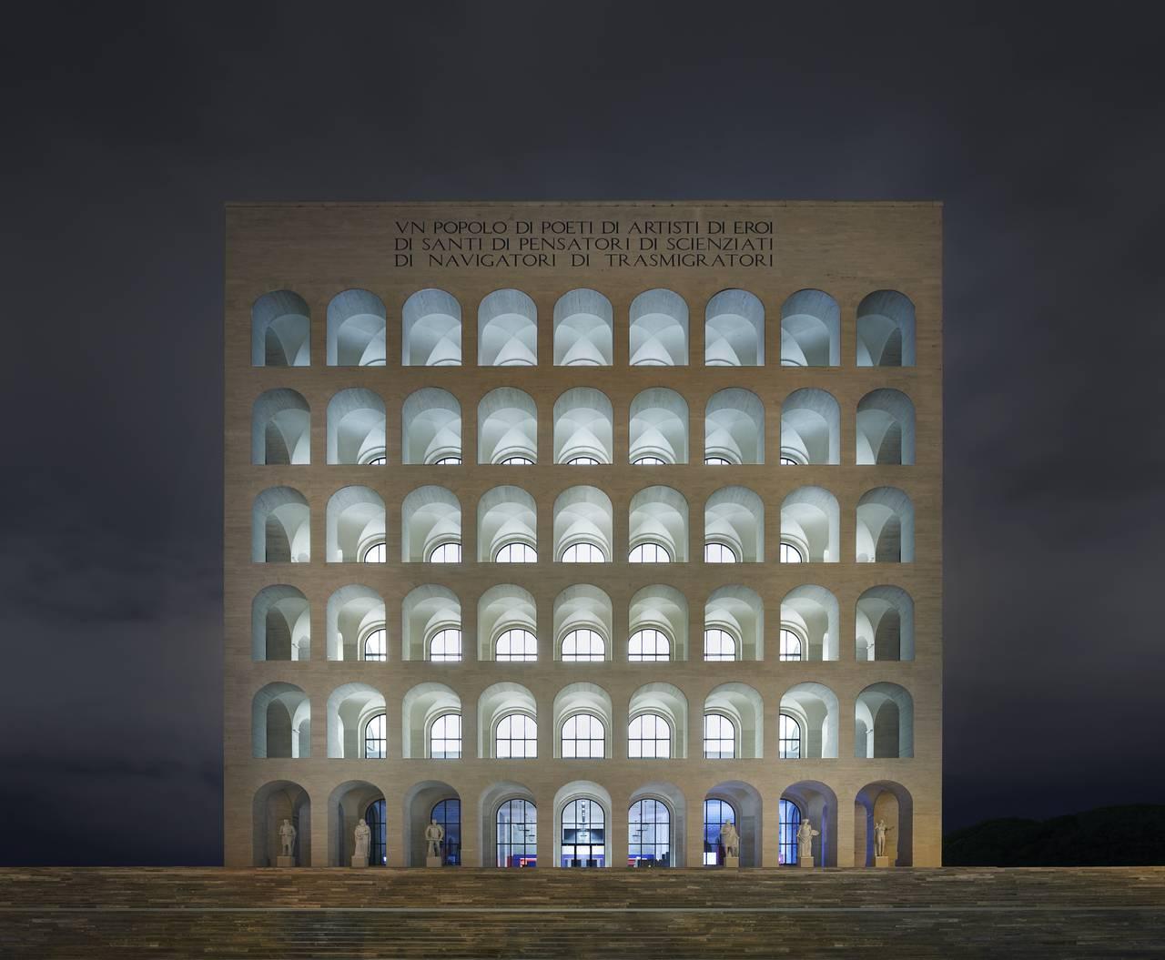 Headquarters fendi rome italy for Palazzo della civilta italiana fendi