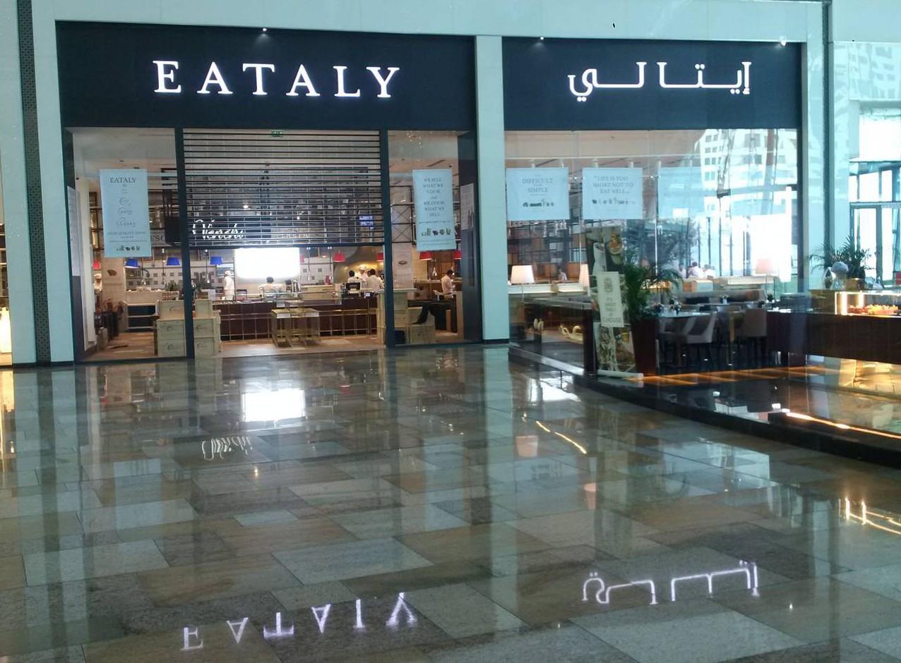 Ceramiche Caesar per Eataly a Dubai