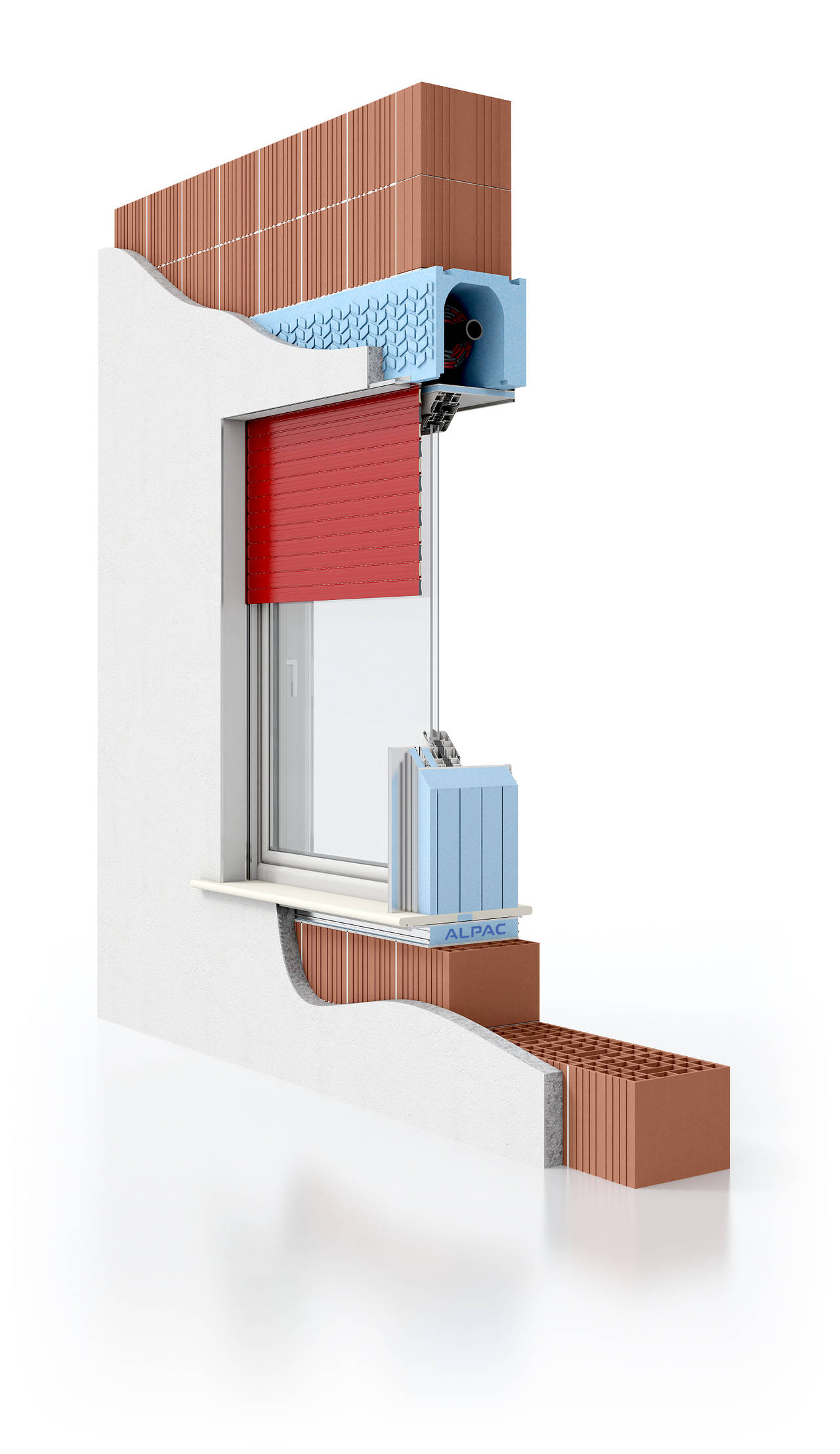 Monoblocco Presystem Avvolgibile per finestre e portefinestre di Alpac.
