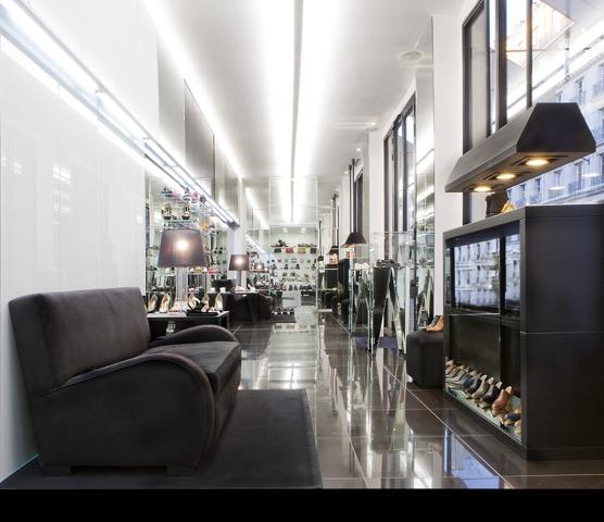 Linea Light per il Walter Steiger Boutique a Parigi