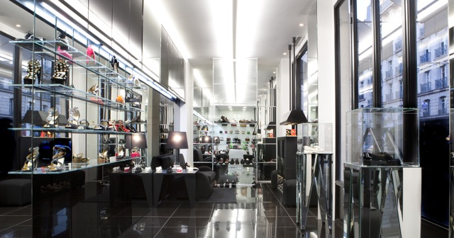 Linea Light per il Walter Steiger Boutique a Parigi