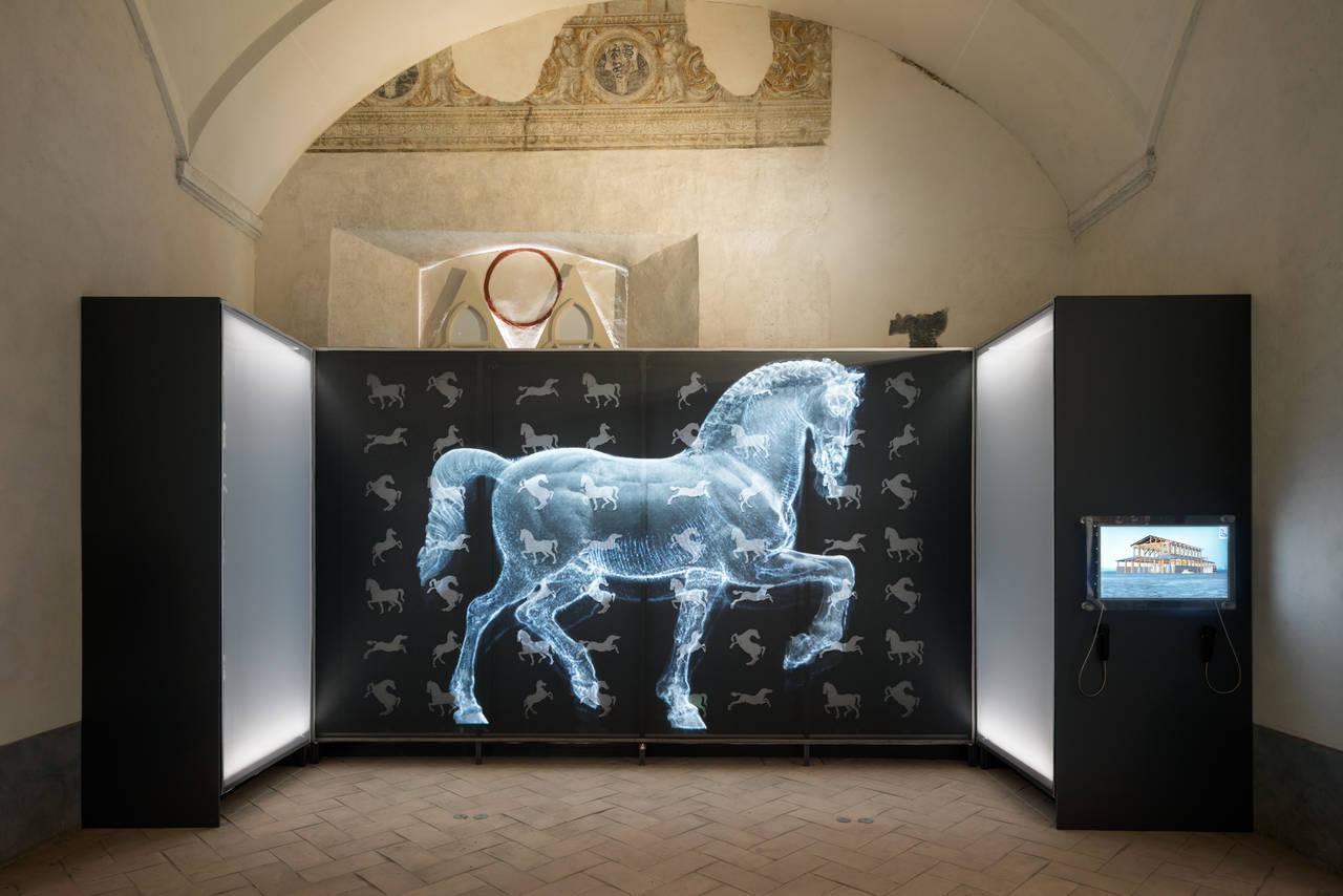 Leonardiana presso il Castello di Vigevano - Il cavallo
