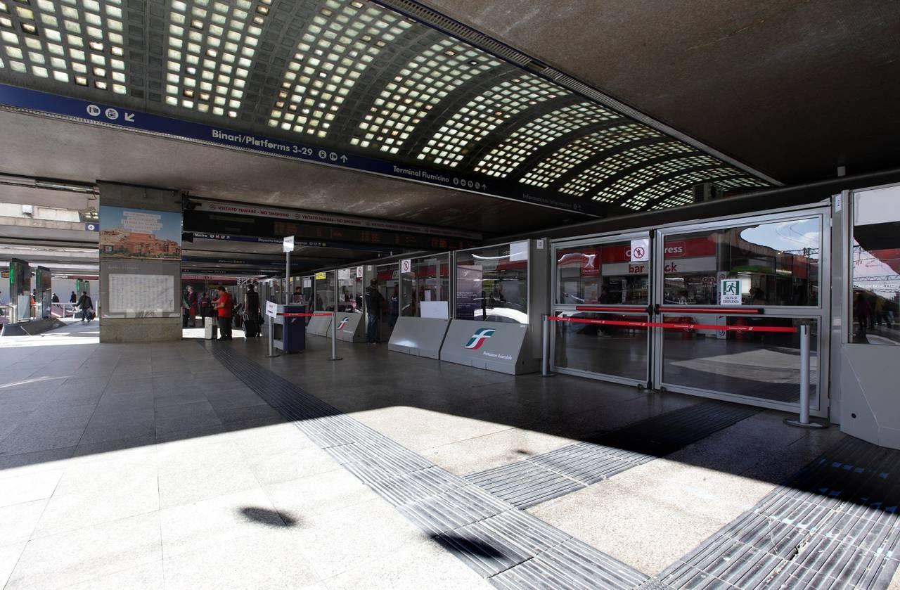 Betafence per la Stazione ferroviaria Termini di Roma