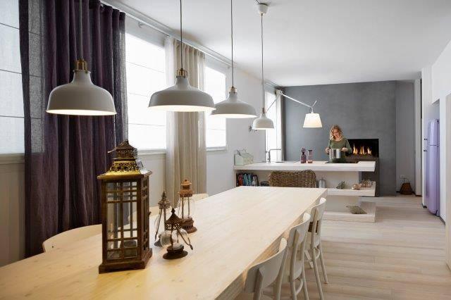 Ideal Work per una villa bifamiliare