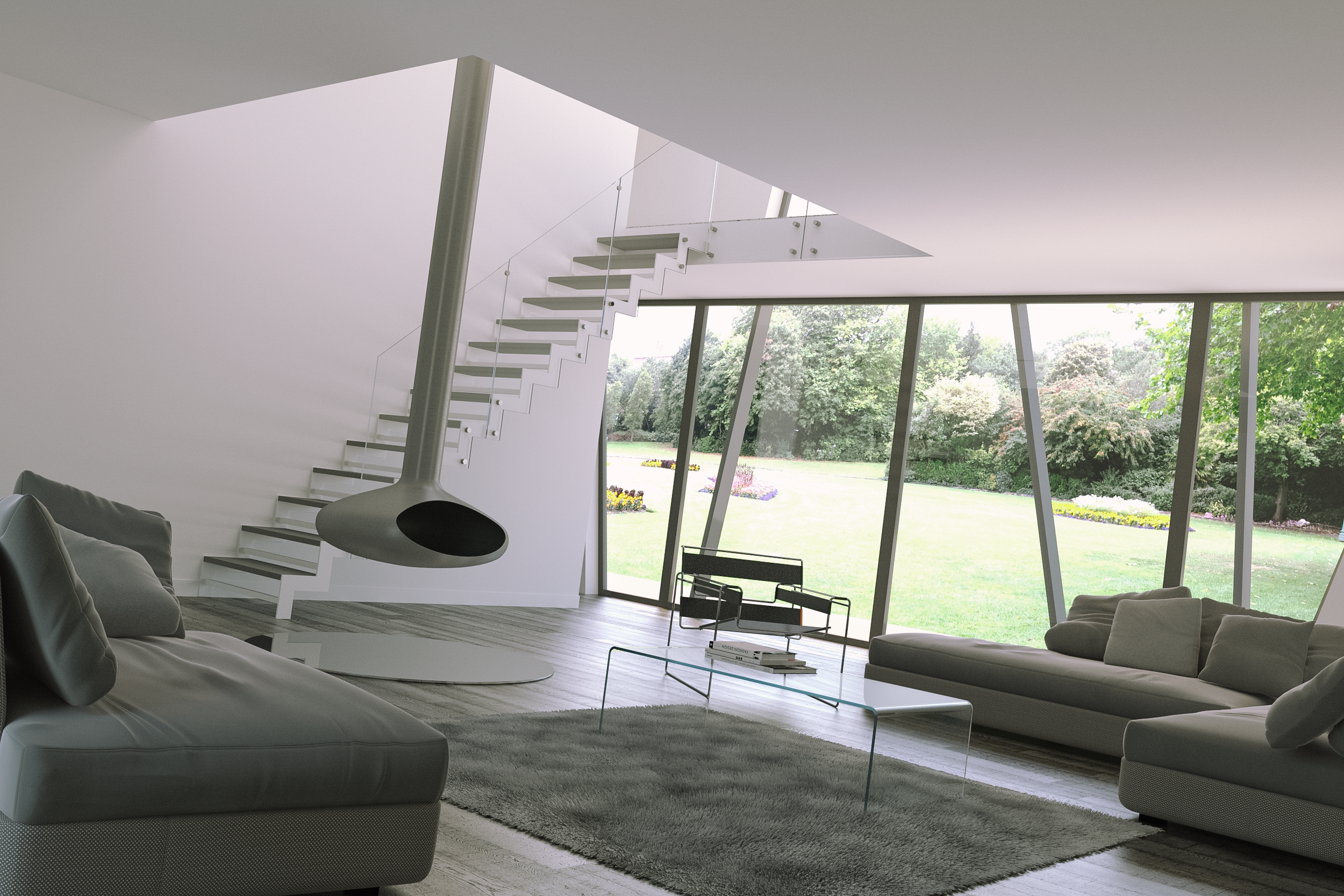 Autodesk 3ds max design d interni arketipo for Ville moderne design interni