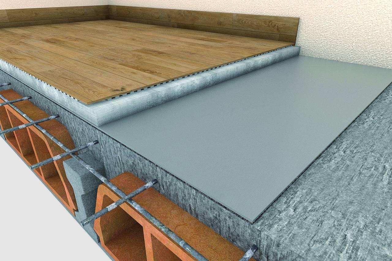 Pavimenti Galleggianti Spessori : Silent pad per pavimenti by knauf arketipo magazine