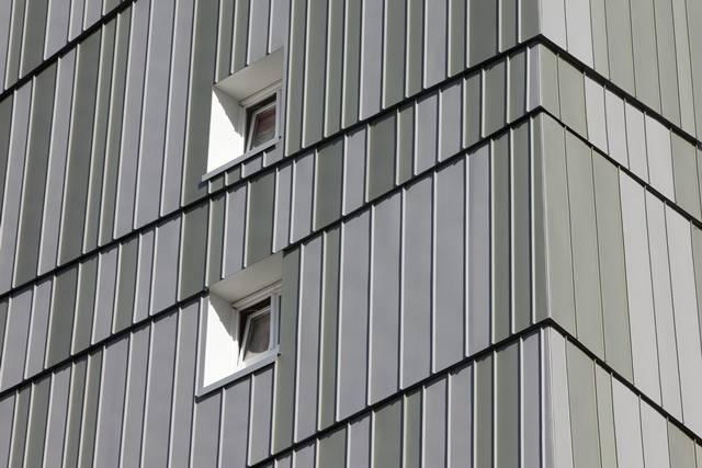 """VM Zinc per l'Edificio """"Cecoslovacchia"""" a Nantes (Francia)"""