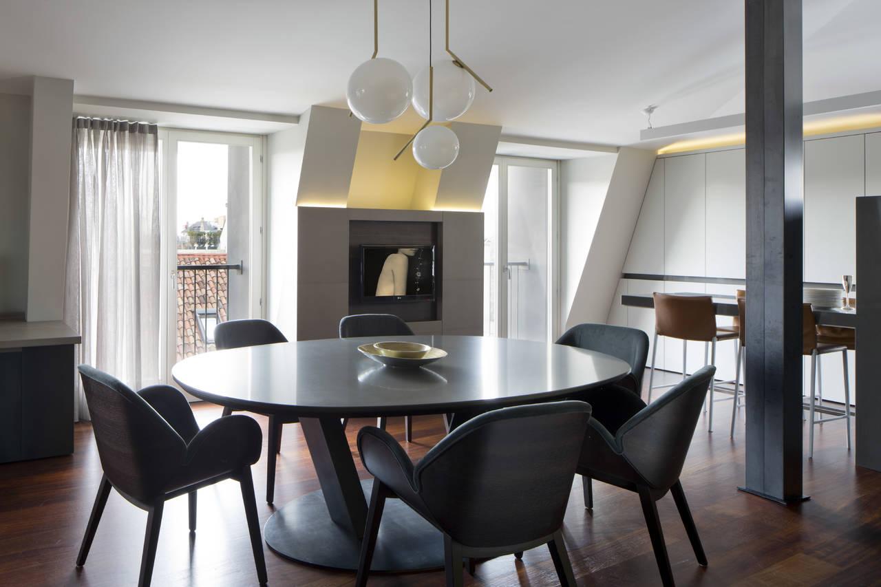 Appartamento a Milano by studio Mazzer