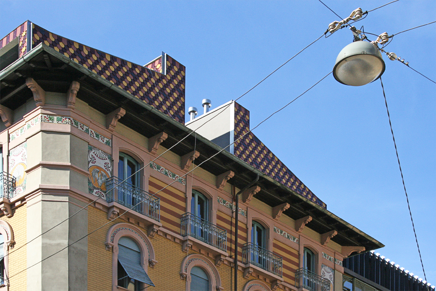 Casa sul tetto