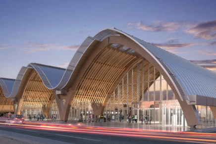 Rubner Holzbau per l'aeroporto di Mactan-Cebu (Filippine)