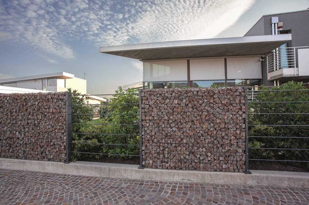 Betafence per una villa bifamiliare a Udine