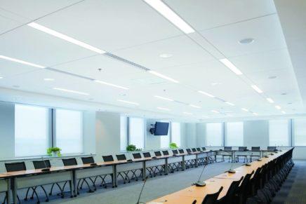 Il soffitto tecnico cambia look: Techzone di Armstrong Building