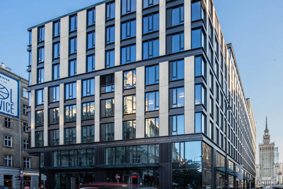 Facciate AGC per l'Astoria Premium Building di Varsavia
