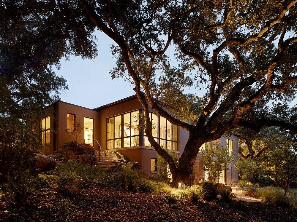 La villa tra gli alberi, Ken Linstead Architects