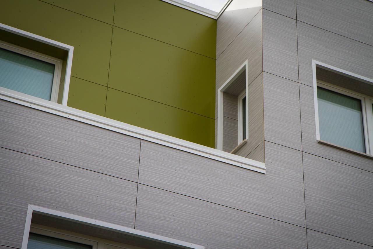 Soluzione di rivestimento per facciate ventilate ROCKWOOL REDAir®