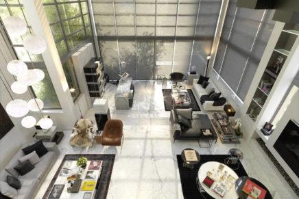 Lithos Design per una Private Penthouse in Libano