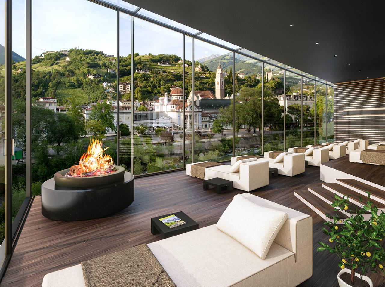 SKY SPA Hotel Terme Merano Relax